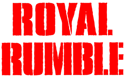 logo for WWE pay-per-view event Royal Rumble
