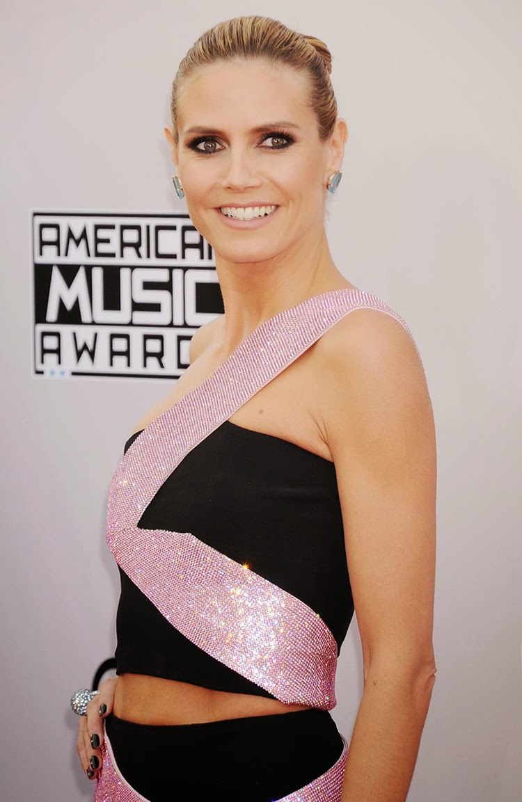Heidi Klum at 2014 American Music Awards in Los Angeles
