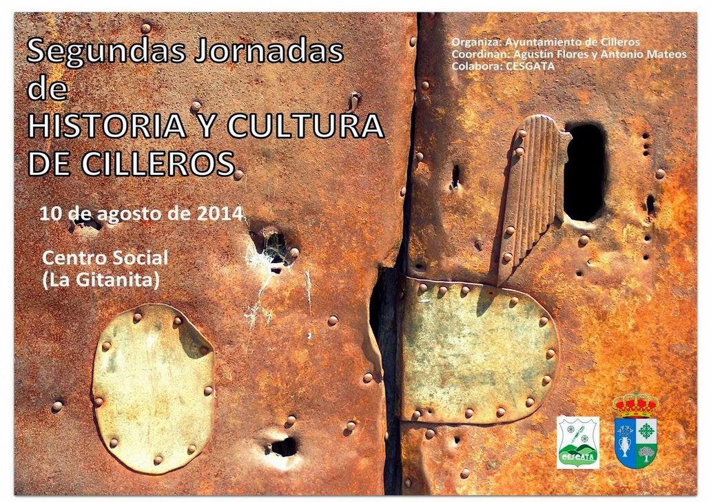 SEGUNDAS JORNADAS HISTORIA DE CILLEROS