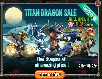 Venda de Dragões Titãs - Oferta Especial!