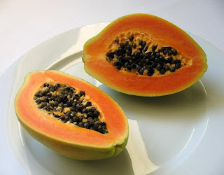 Papaya healthy fruits