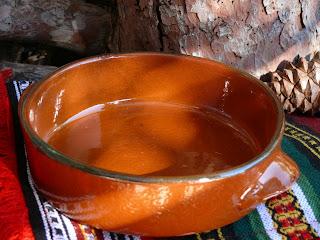 spanish terracotta restaurant dish