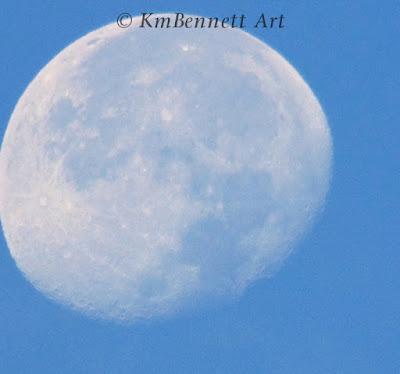 Moon photo 03 KmBennettArt