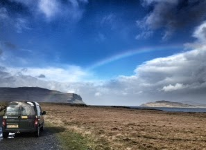 Rainbow over Loch Na Keal