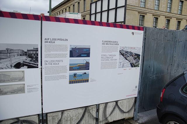 0447, Baustelle Empfangsgebäude für die Museumsinsel, James-Simon-Galerie, Pergamon Museum, Am Kupfergraben, Bodestraße 1-3, 10178 Berlin, 02.02.2015
