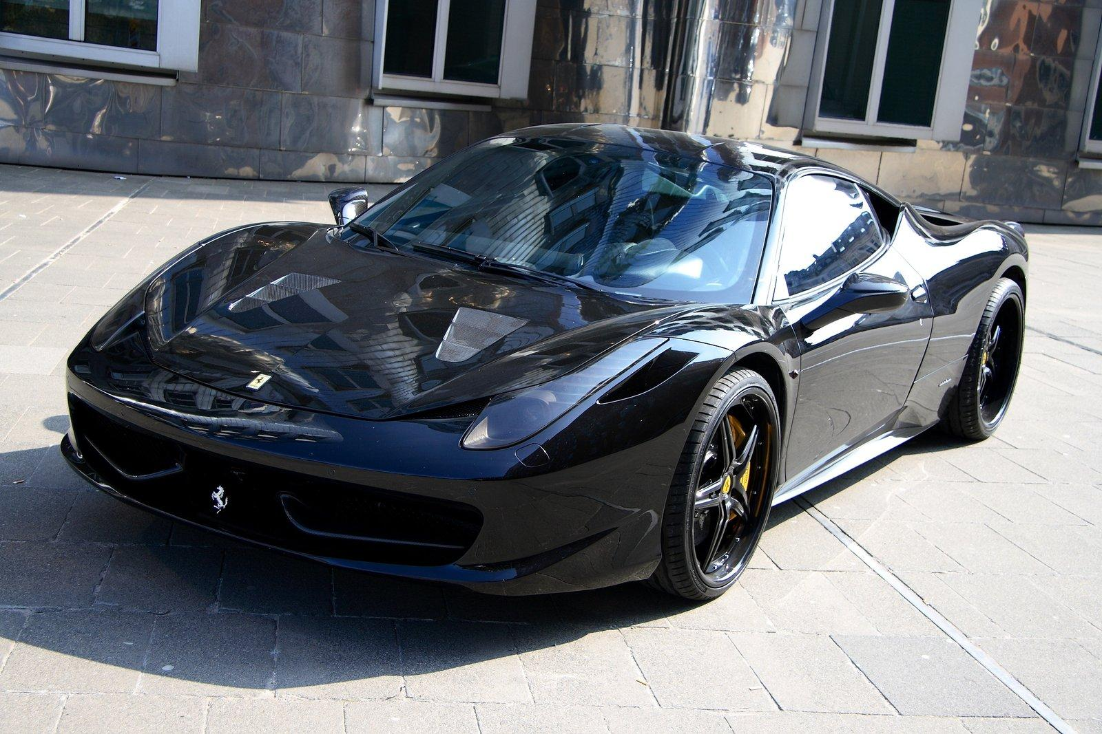 2011 Anderson Germany Ferrari 458 Black Carbon ...