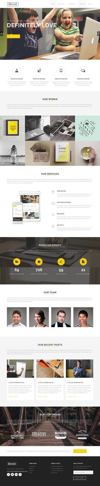 Devoll Multipurpose WordPress Theme