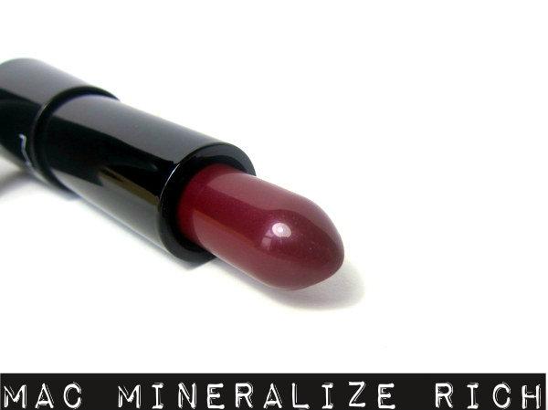 MAC Mineralize Rich Lipstick Lush Life
