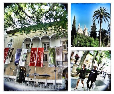 Casal Solleric, Catedral de Palma, Paseo del Borne