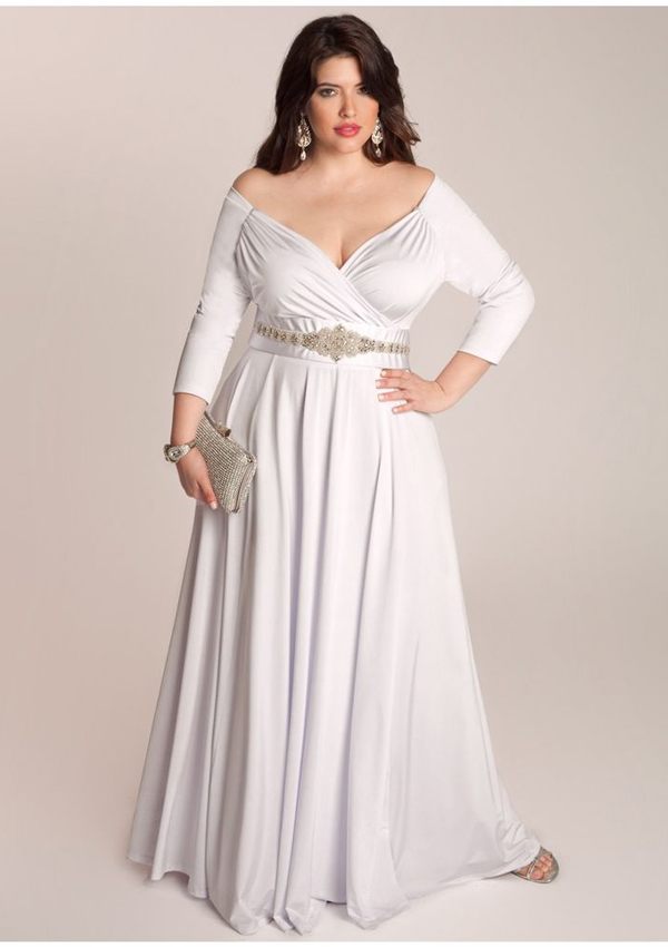 spesial plus size wedding dresses