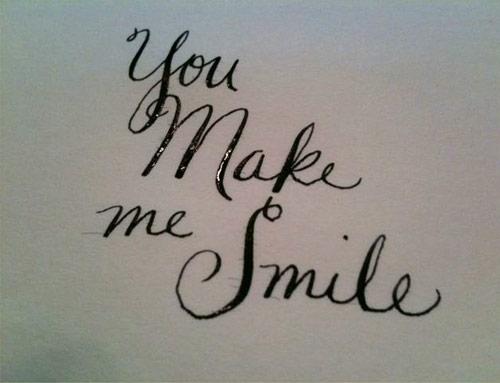 You nake me smile smile bracelet