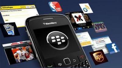 Aplikasi Indosat BlackBerry