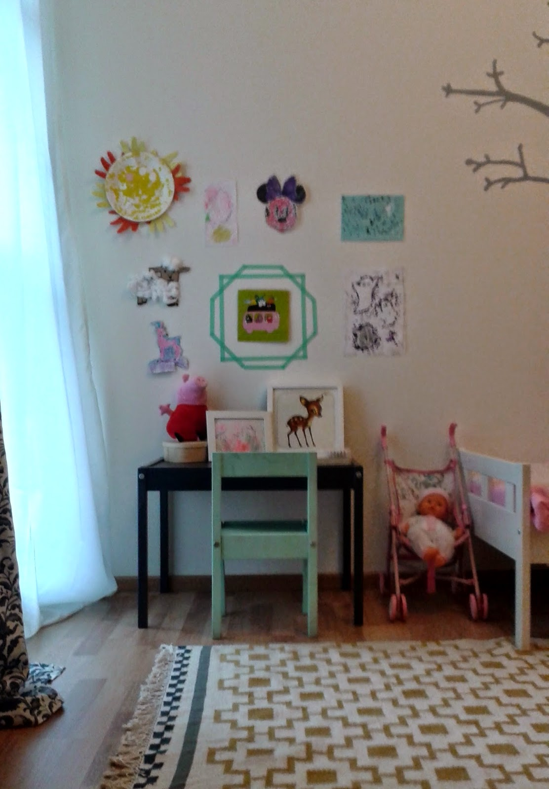 The home of bambou for Chambre montessori