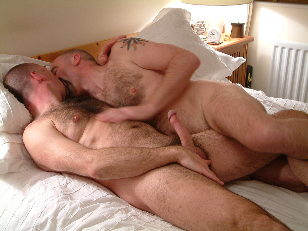 gay bear hairy sex - 2 bears sex