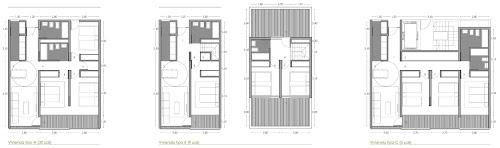 Tipologías viviendas