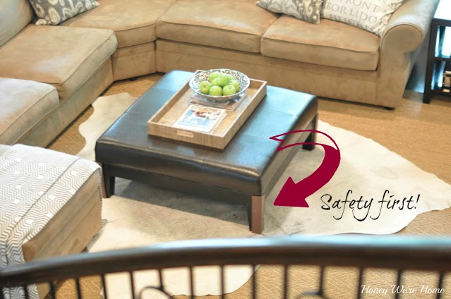 Child Safe Coffee Table CoffeTable - Baby Safe Coffee Table