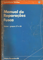 MANUAL DE REPARAÇÕES FUSCA 1986 (MOTOR)
