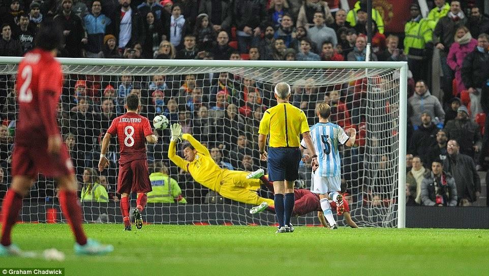 VIDEO Argentina Portogallo 0-1 Gol Highlights