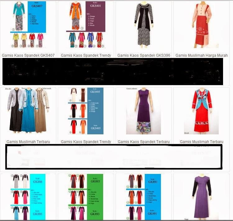 Info Dunia Trend Gamis 2014 Model Baju Wanita Terbaru