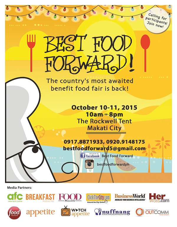 Best Food Forward 2015!
