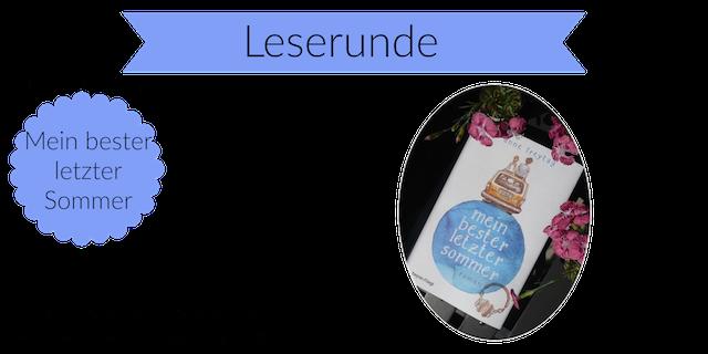 """Leserunde """"Mein bester letzter Sommer"""":"""