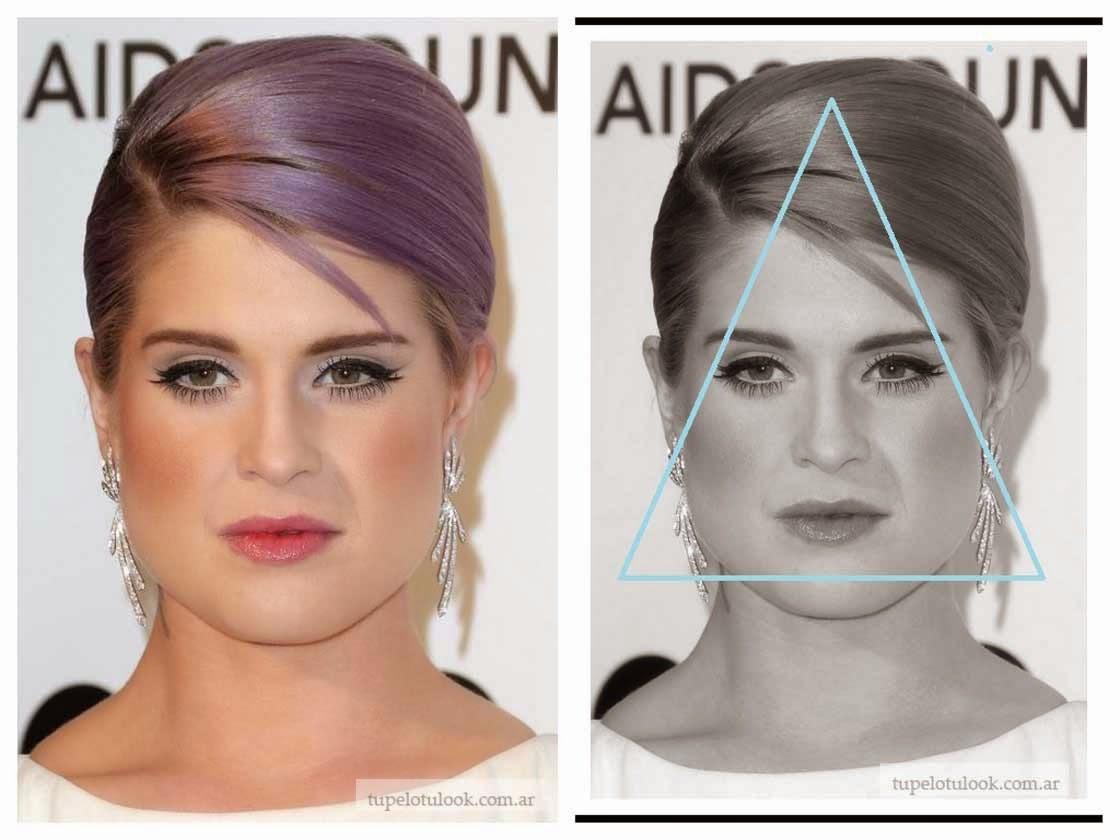 Peinados Rostro Triangular - Cómo cortar el cabello y peinar un rostro triangular