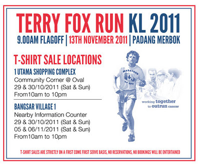 Terry Fox Run KL 2011