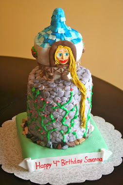 Rapunzel Cake