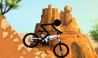 Çöp Adam Bisiklet Üstünde Oyunu
