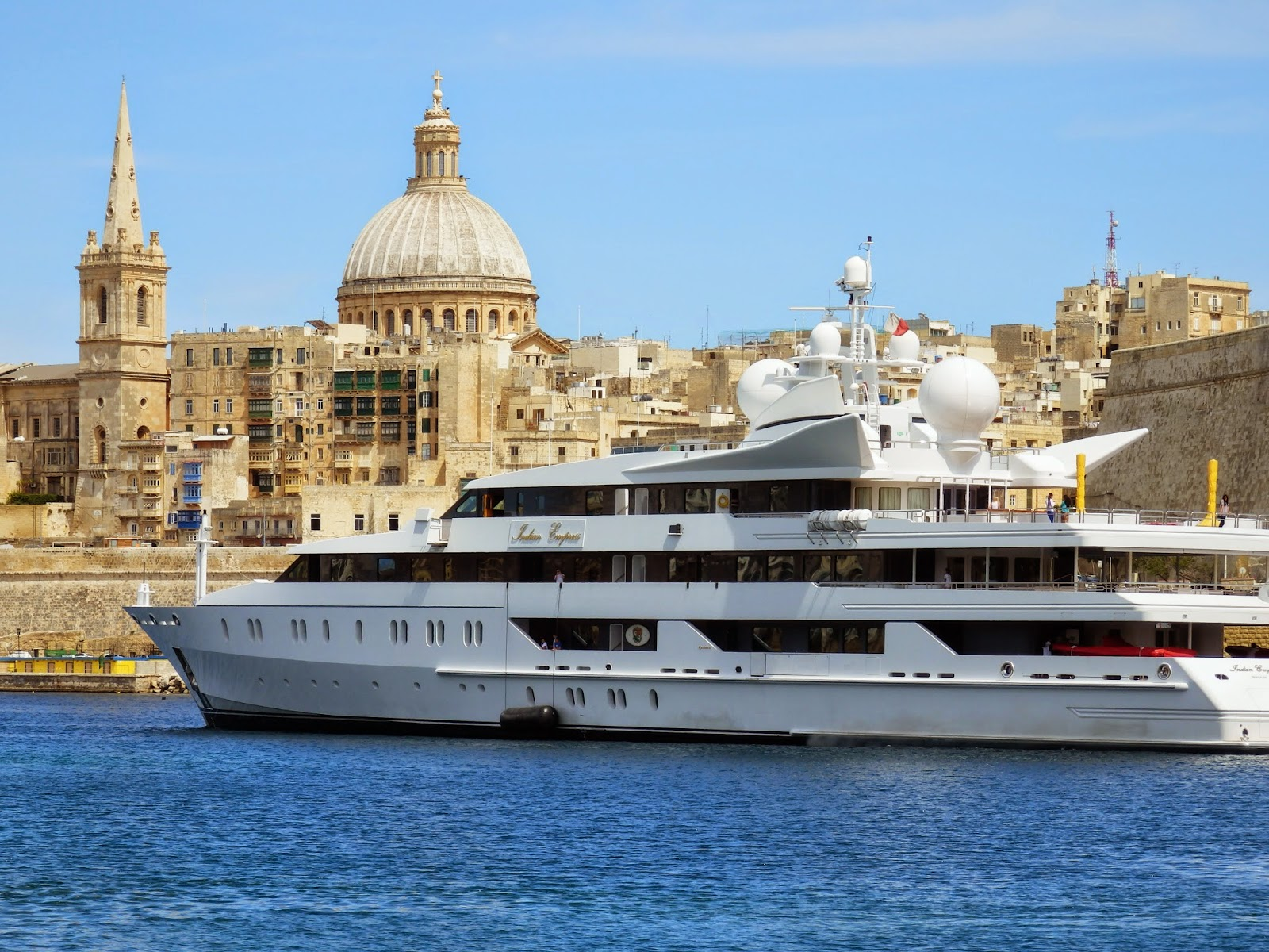 $93 million boat Indian Empress