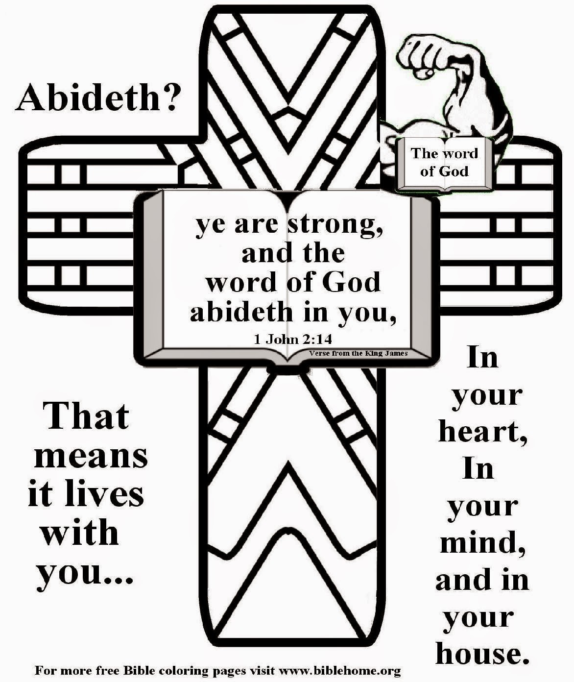 Free Coloring Pages Of Preschool Bible Free