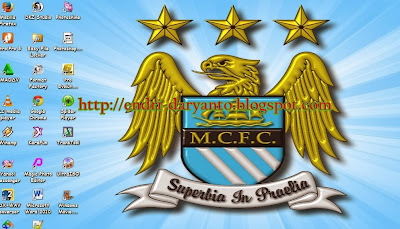 Download Tema manchster city Terbaru 2014 For Pc