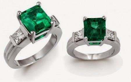 model cincin batu wanita