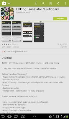 Download Kamus Berbagai Bahasa Untuk Android