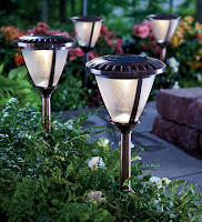 solar ground lights for patio