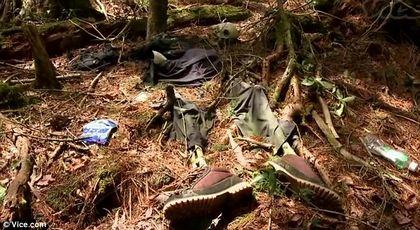 hutan bunuh diri di jepang