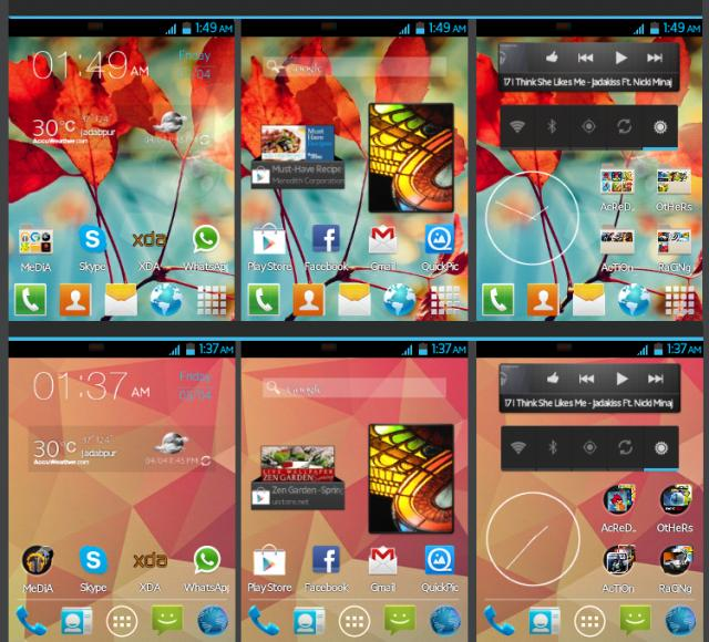 S3 launcher V 3.5 for galaxy y and gingerbread devices