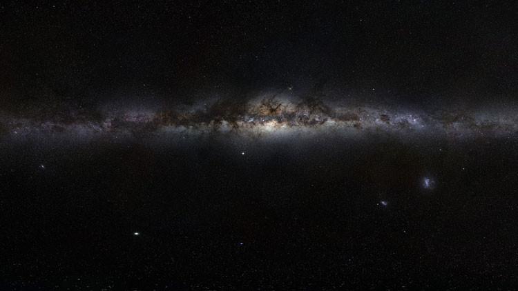 Enorme 'desierto' alrededor del centro de la Vía Láctea