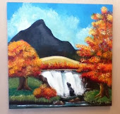 My Waterfall Painting