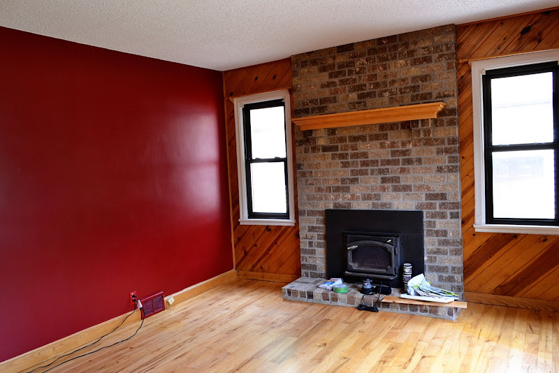 Maroon Living Room Wall Color