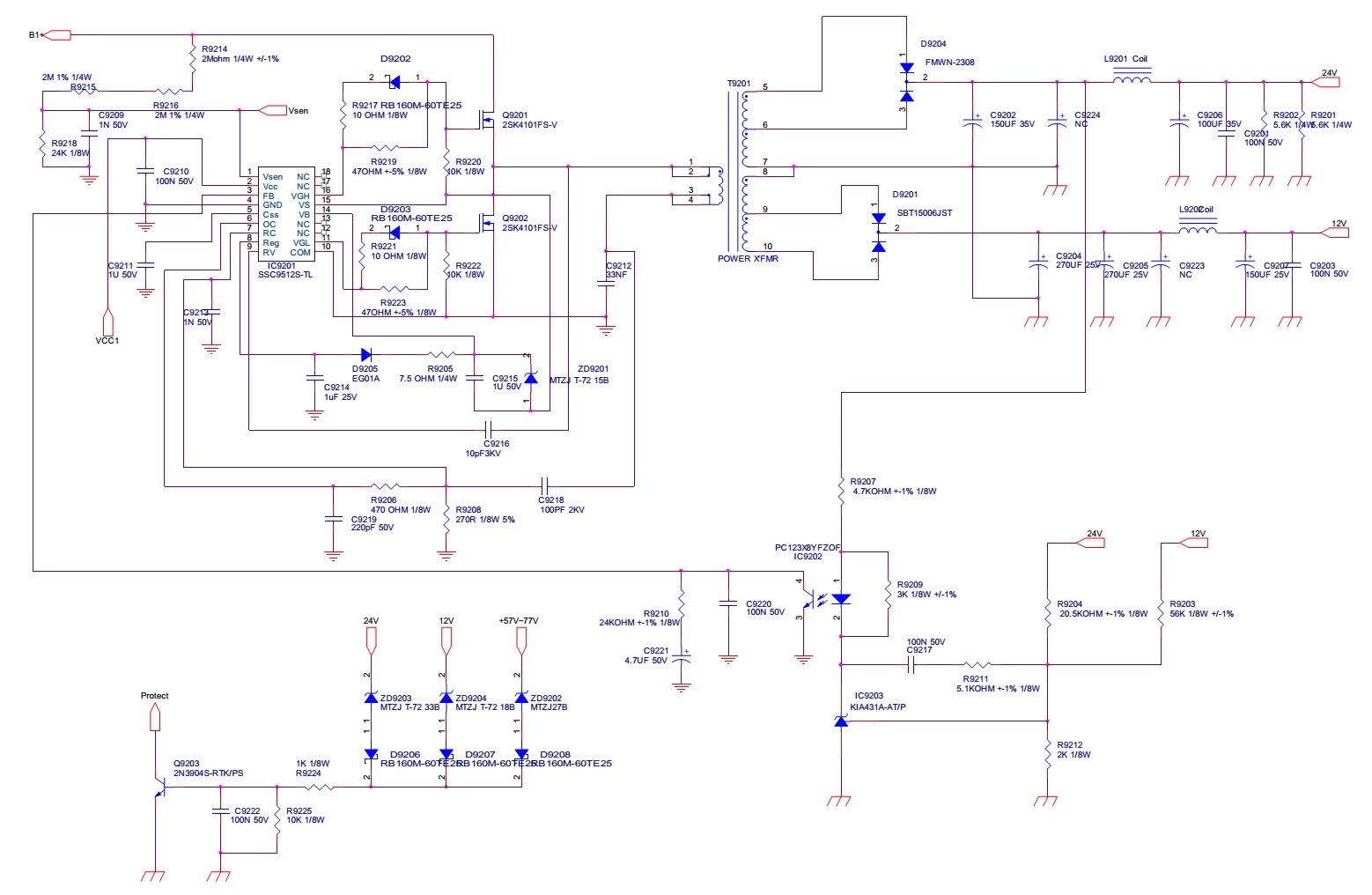 Lg Led Tv Circuit Diagram 25 Wiring Images Power Supply Smps Schematic Using Buz91 Fig 6 Haier Le32c13200 Le40c13800 And Inverter