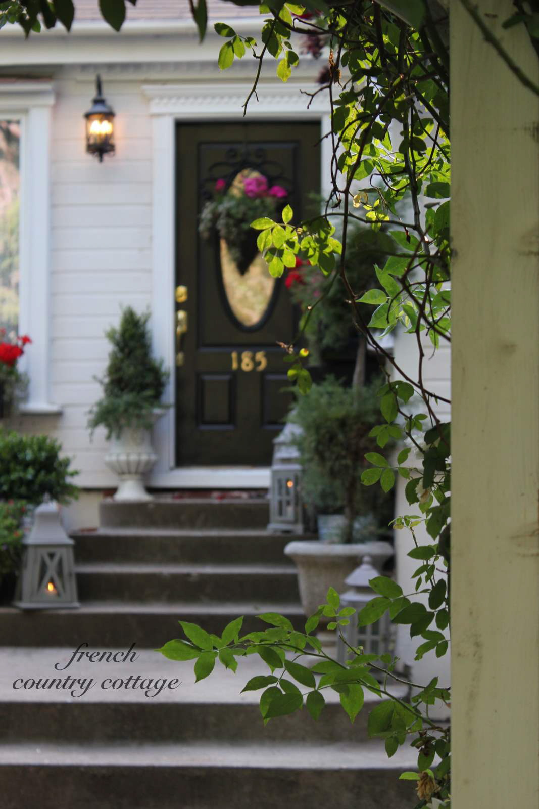Summer Front Door Refresh French Country Cottage