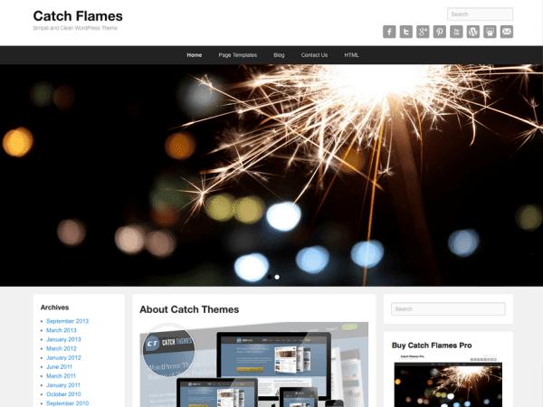 Catch Flames WordPress Theme