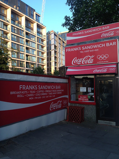 Frank's Sandwich Bar, Kensington Olympia, London