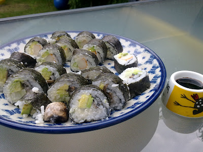 ninja sushi easy make at home figs&rosemary blogspot