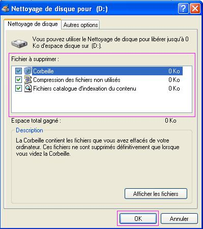 comment nettoyer son disque dur windows 7
