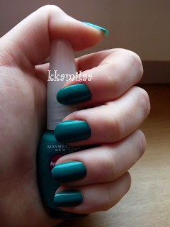 Maybelline Mini Colorama nr 120 - Urban Turquoise