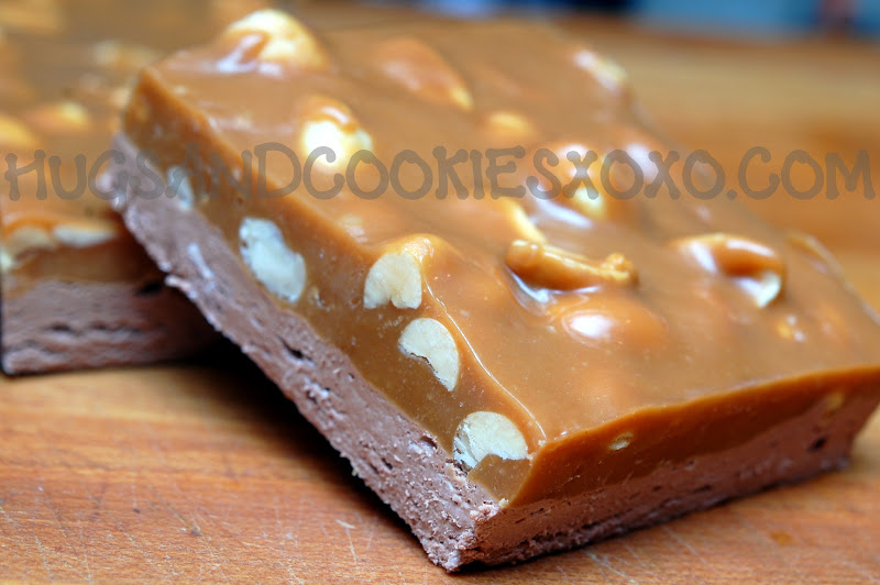 HOMEMADE SNICKERS BARS!!!!! - Hugs and Cookies XOXO