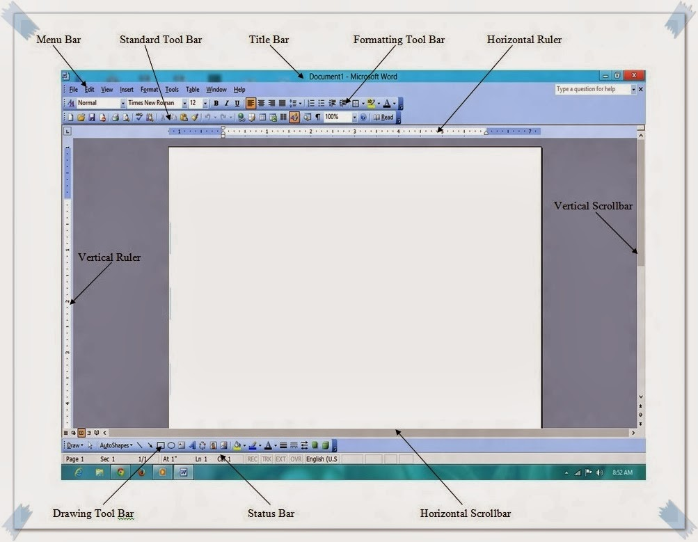 Page Borders For ms Word 2003