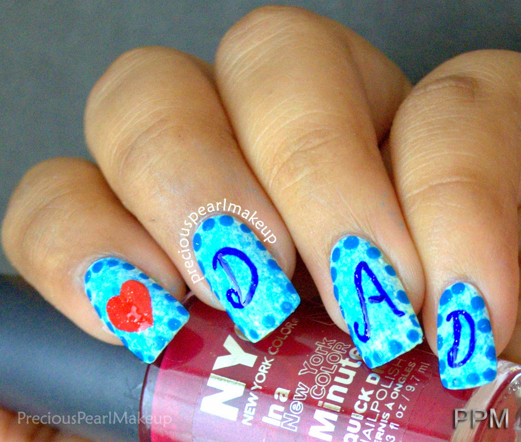 Nail Designs For Fathers Day: Father s day nail art ideas girlshue ...